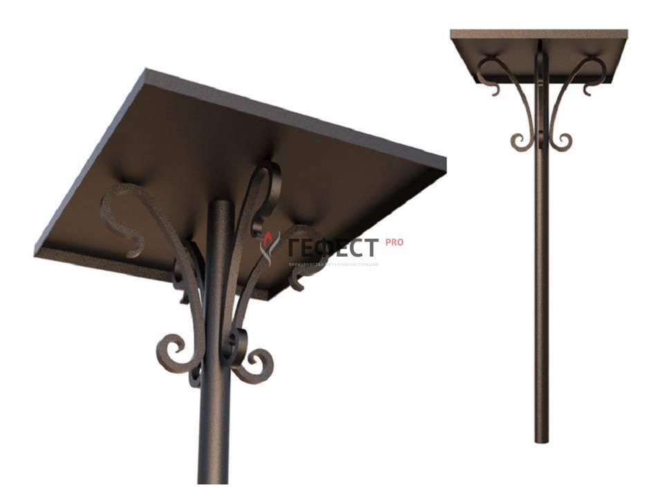 Скамейка и столик на кладбище
