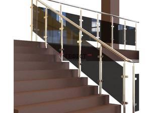 перила для лестницы фото