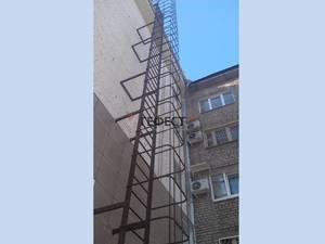пожарные лестницы фото