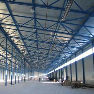 Изготовление и монтаж простых строительных конструкций